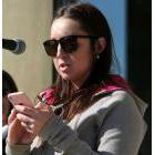 Brooke Metcalfe speaks at city hall in Sarnia during the annual Stand Up Against Poverty rally