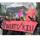 Rally in support of BC ACORN