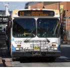 Bus on Halifax Transit's Route 10