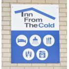 Sign identifying Inn from the Cold in Newmarket